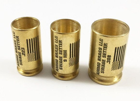 AmmoBrass Swage Setter - Avaliable in 9mm, .223Rem, and .308/45ACP