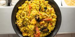 Huisbereide paella