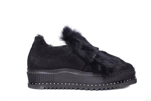 NILA&NILA sneakers with fur