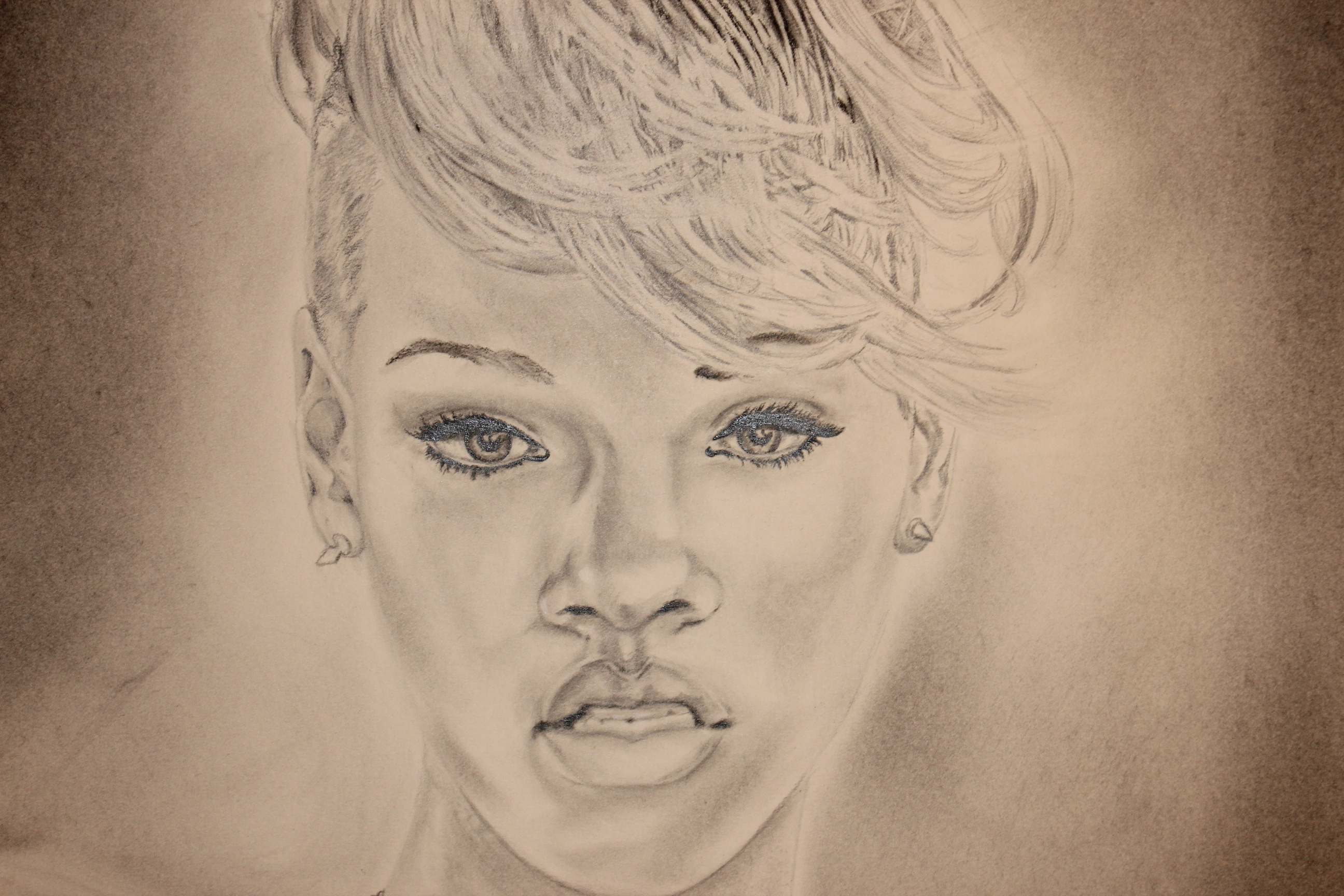Rihanna (Close-up)