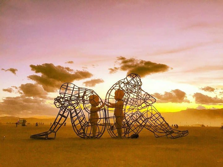Festival du Burning Man aux USA