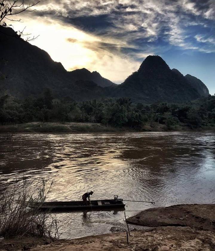 Moei River Thai-Myanmar border
