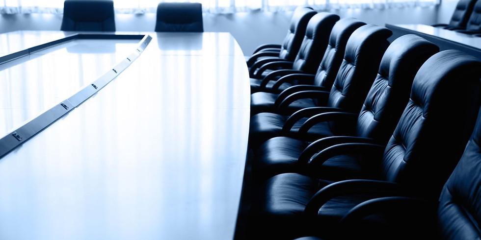 Hall Board Meeting