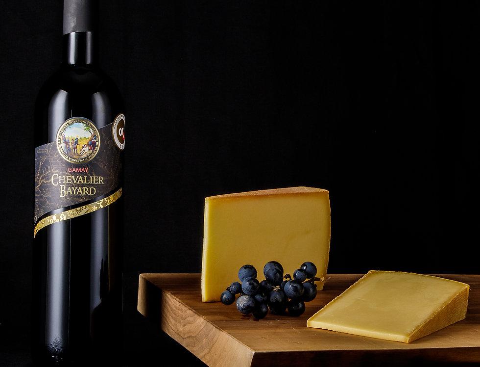 Vin et fromage «parc naturel pfyn-finges»