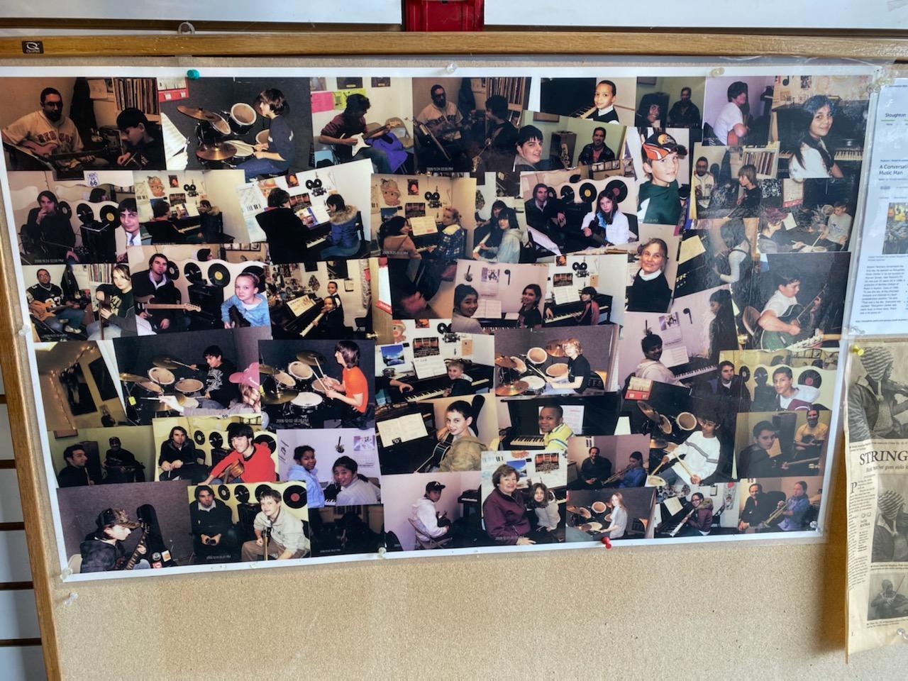 Wall of Musical Memories
