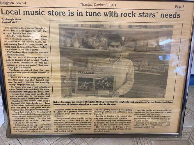Stoughton Journal 1991
