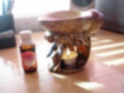 Image of an aromatherapy burner