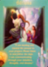Image of oracle card for angel Adriana