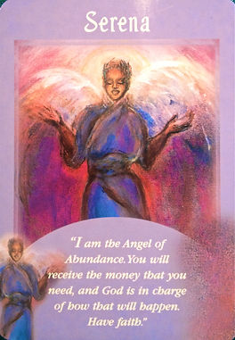 Image of oracle card for angel Serena