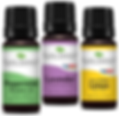 Image of 3 aromatherapy bottles