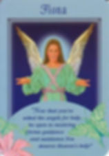 Image of oracle card for angel Fiona