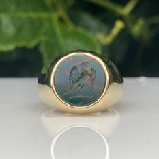 Buzzard Rising Crest Ring