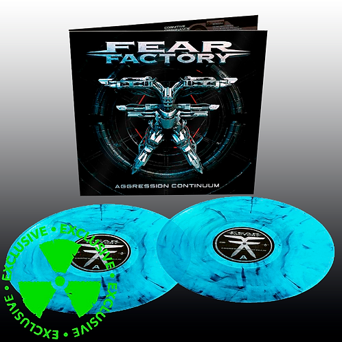 Fear Factory - Aggression Continuum (Curacao & Black Marbled)