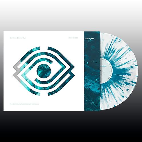 Spiritbox - Eternal Blue (White & Opaque Dark Blue Splatter)