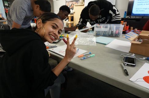 United Playaz Youth at Design Workshop