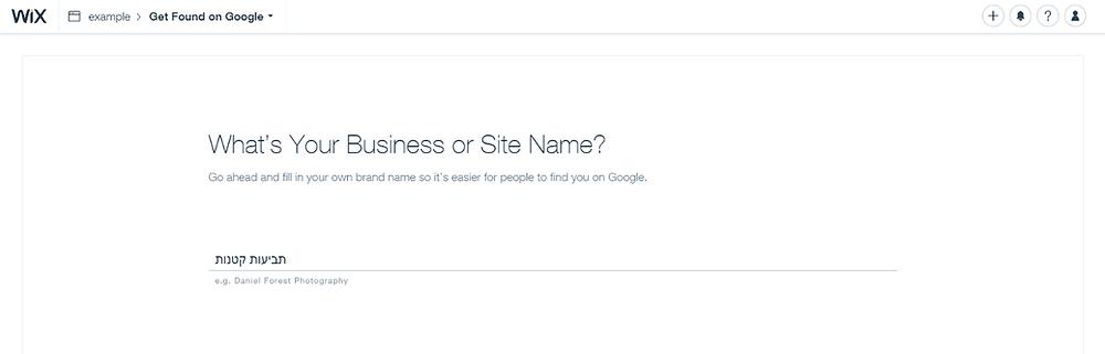 הגדרות קידום האתר במנוע החיפוש של גוגל