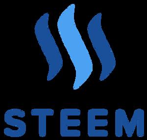 לוגו של המטבע הוירטואלי STEEM