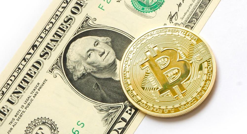 ביטקוין נגד הדולר האמריקאי