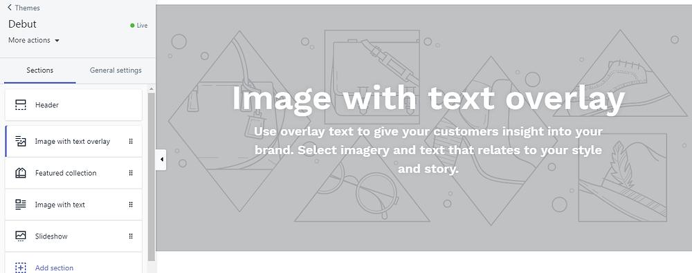 עיצוב חנות השופיפיי האינטרנטית