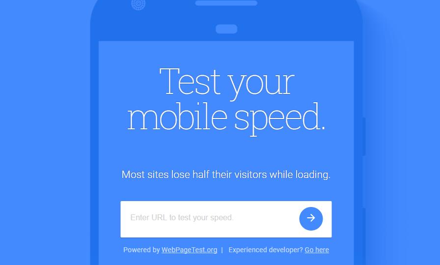 בדיקת מהירות האתר