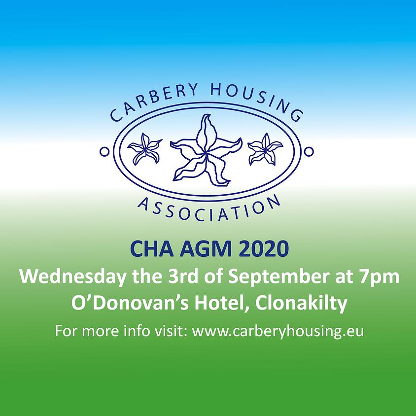 Carbery Housing AGM 2020 - Now via Zoom!
