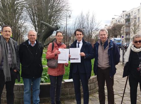 3ème signature du pacte pour la transition d'un(e) candidat(e) aux municipales