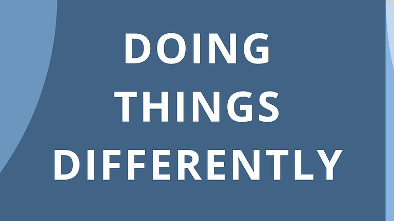 Doing Things Differently: enabling technology to transform health and care