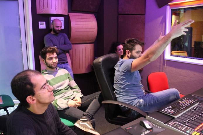Recording Studio  - Recording Vocals Nunzio la Rosa