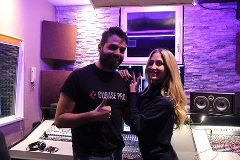Recording Studio - Recording Vocals Claudia Illari