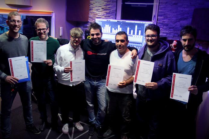 Corso di Mastering Digitale - Consegna delle certificazioni