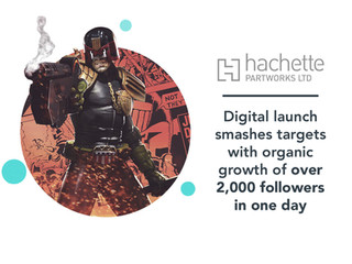 Hachette: 2000AD social media case study