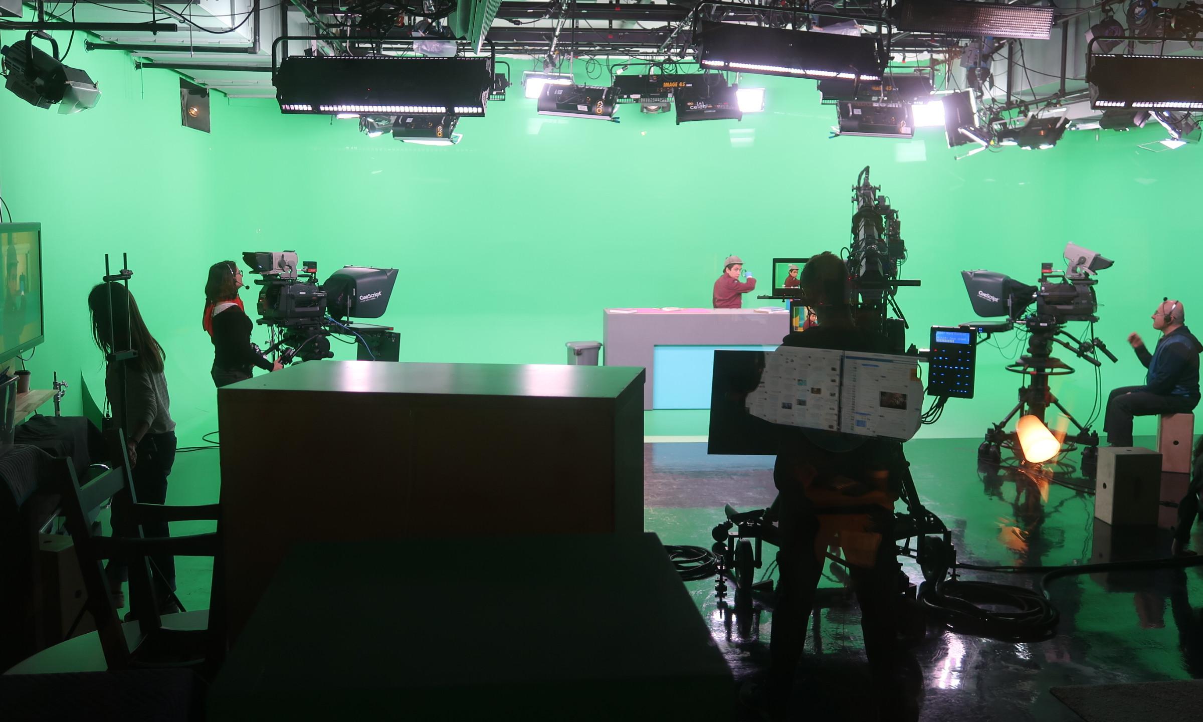 Day 2: Green Screen