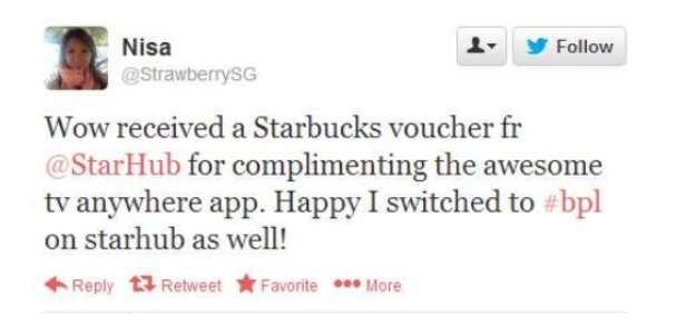 starhub: An example of surprise and delight marketing on social media