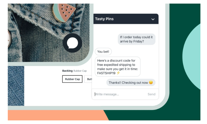 Shopify Chat C-Commerce