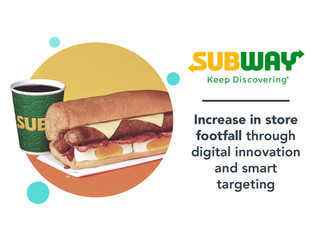 Subway: social media case study