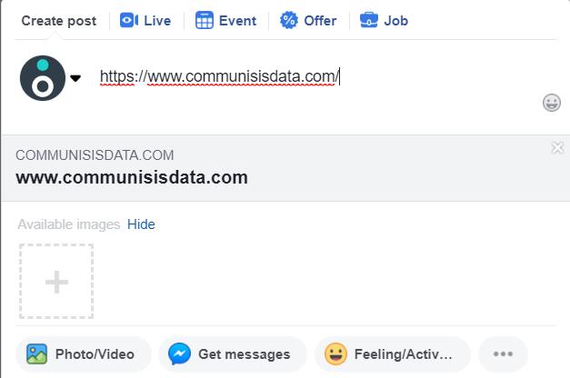 Example of bad metadata
