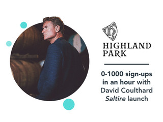 Highland Park: David Coulthard social media case study