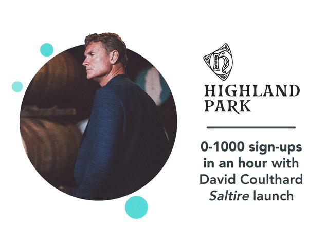 Highland Park: David Coulthard social media case study