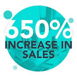 Marzipan Media - social media case study - sales increase