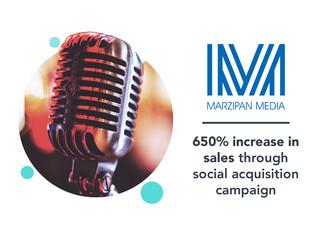 Marzipan Media: social media case study