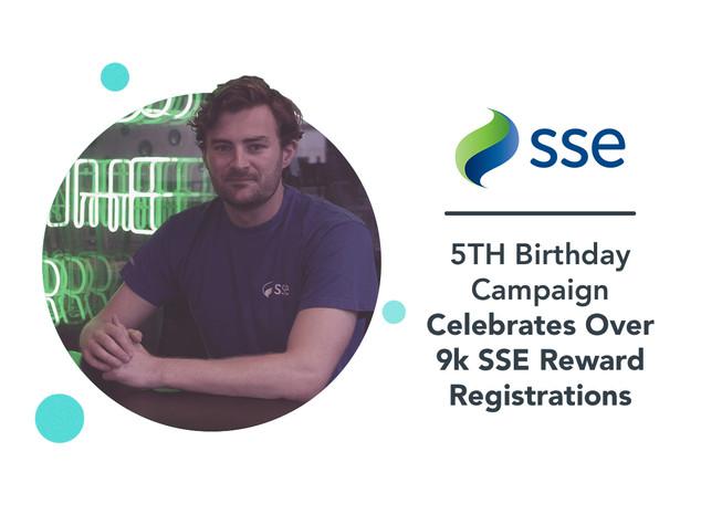 SSE: birthday campaign social media case study