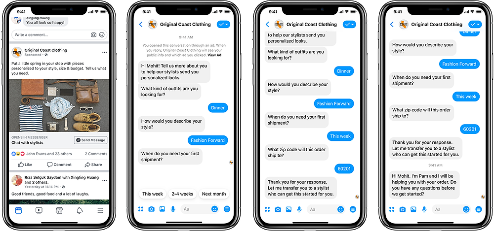 F8: Messenger Bots and Lead Gen