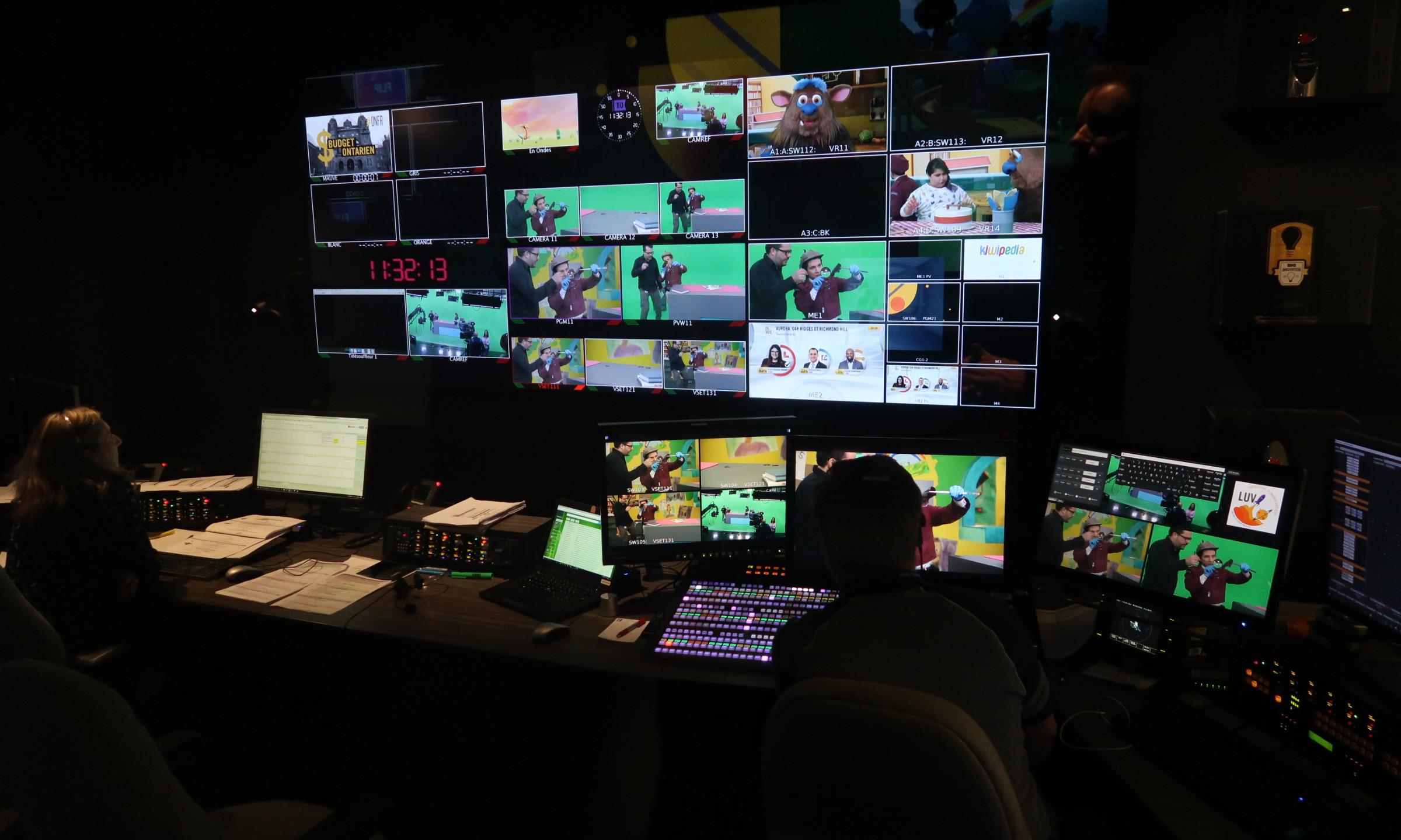 Day 2: Green Screen Studio