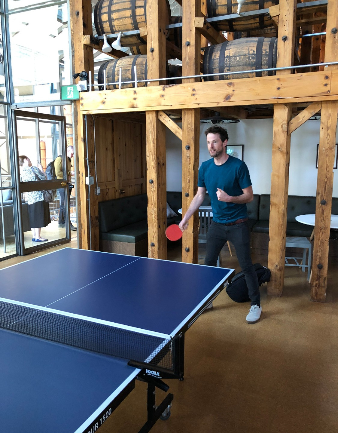 Day 4: Table tennis