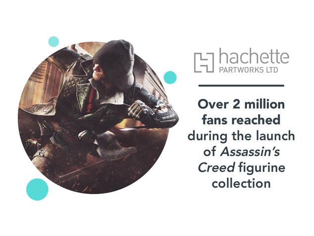 Hachette: Assassin's Creed case study