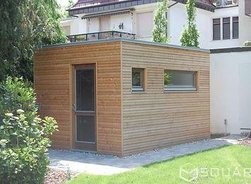 saunahaus square. Black Bedroom Furniture Sets. Home Design Ideas