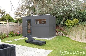 saunahaus square xl ihr saunahaus mit h chstem komfort. Black Bedroom Furniture Sets. Home Design Ideas