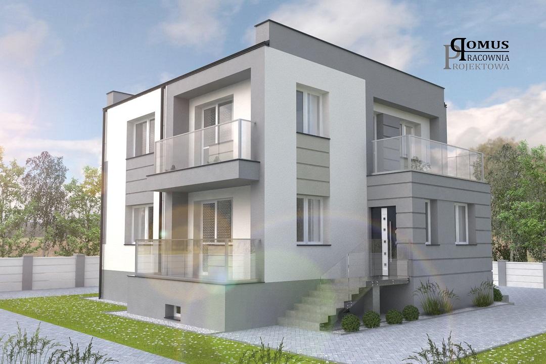 ppdomus - Projekt elewacji - Grójec