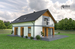 Projekt elewacji - Koszalin
