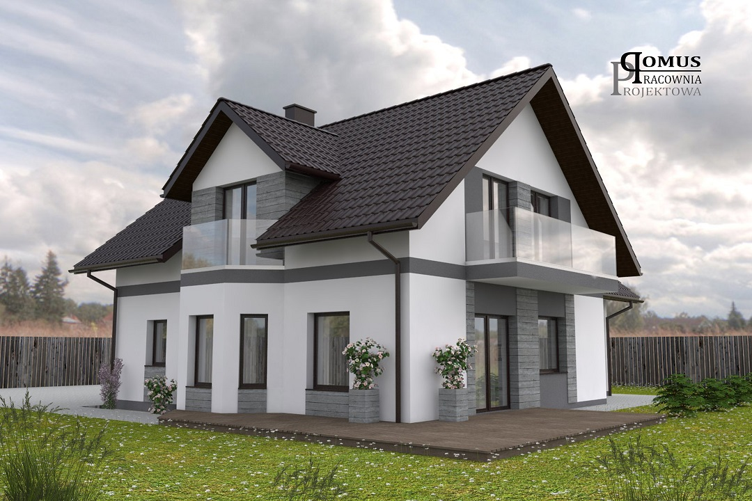 Projekt elewacji Wałbrzych